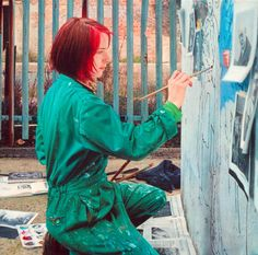 Before I die I want to paint a mural.