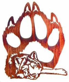 wolf paw print - - Yahoo Image Search Results