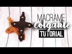 Colgante cruz ♥︎ macramé   Tutorial   How to - YouTube