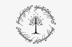 Visual Design: Lord Of The Rings tattoo design. White tree of Go… Visual Design: Lord Of The Rings tattoo design. White tree of Go… Tolkien Tattoo, Tatouage Tolkien, Hobbit Tattoo, Lotr Tattoo, Raven Tattoo, Map Tattoos, Ring Tattoos, Body Art Tattoos, Tree Tattoos