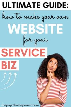 Website Design Inspiration, Blog Website Design, Making Your Own Website, Start A Website, Create Your Own Business, Starting Your Own Business, Business Ideas For Beginners, Teen Entrepreneurs, Website Tutorial