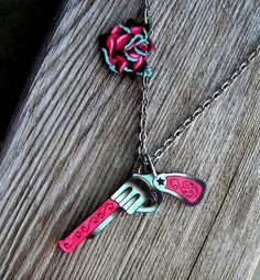 tattoo gun necklace