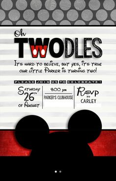 Looking for a cute Mickey themed party? We have all the party details here!