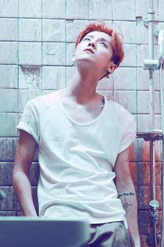 鹿晗 Luhan mini album <I> publicity photo cr. Deer-鹿三疯