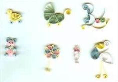 Image detail for -K367 - Nothing but Babies Quilling Kit