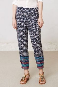 Tapered Starflower Trousers