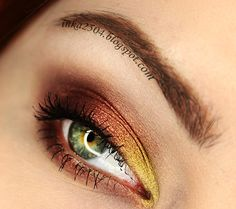 """Fun and daring this look is perfect for a night out!  """"Vegas Lights"""" By: Inka2504 on Makeup Geek"""
