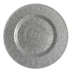 Alinea Round Silver Glass Charger Plate by Jay Import Co., http://www.amazon.com/dp/B008VVEENY/ref=cm_sw_r_pi_dp_v2g.qb17VGVWH