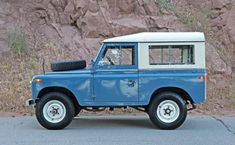 Land Rovers, especially the stout Series II and IIA models, have long been associated with off-road adventure in exotic locations. If that's your primary goal, this 1971 Land Rover Series IIA New Defender, Land Rover Defender, Series 2 Land Rover, Volkswagen, Beach Cars, Range Rover Classic, Jeep 4x4, Range Rover Sport, Off Road