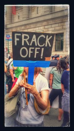 #FrackOff @techsavvynyc with @greencitychllng at the #PeopleClimateMarch,  @Peoples_Climate