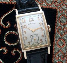 Men's Vintage Watch:1953 Hamilton Dress Wristwatch   Strickland Vintage Watches #men'sjewelry