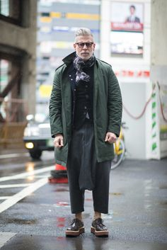 SCENE Magazine – Fashion, Interior Design, Luxury, Social Events in New York and beyond | Nick Wooster: 4 Looks in Tokyo