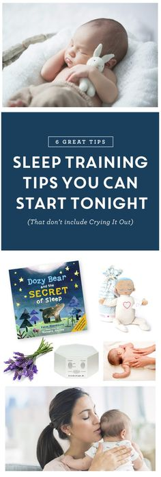6 amazing no-cry sleep training tips for your baby and toddlers. Even if you're not on a schedule or routine, these gentle methods may help you get some extra rest.
