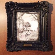 Michael Mararian Original Ink Painting Carlista's Sanctuary - Halloween