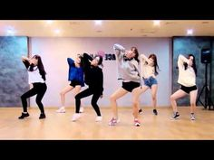 GFRIEND - Rough - mirrored dance practice video - 여자친구 시간을 달려서 - YouTube