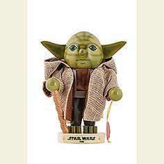 Nutcracker Yoda  -  Limited Edition  -  24,5cm / 9,4 inch
