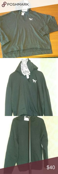 Hooded pullover sweat shirt Very Good Condition No Flaws PINK Victoria's Secret Tops Sweatshirts & Hoodies