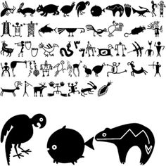 Raised in Flagstaff, Arizona, Carolyn Gibbs used her uniquely Southwestern perspective in designing the Artifact art fonts. The Artifact fonts are interpretations of rock art and symbols found in Southwestern Native American culture.