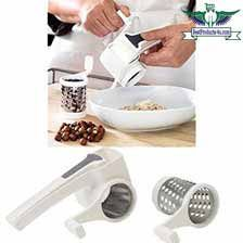 Rotary cheese graters are certainly one of the most appetizing foods. However, most people find the grating process quite tiresome and time consuming. Best Cheese Grater, Stainless Steel Drum, Gadgets, Best Commercials, Left And Right Handed, Grated Cheese, Food Preparation, Rotary, Ikea