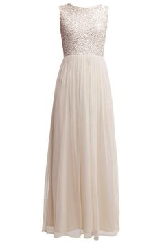 Lace & Beads Party Dress<br /> <br /> - Delicate chiffon fabric skirt<br /> - Maxi length<br /> - Embellished detail <br /> - Zip to reverse<br /> <br /> Care: 100% Polyester, Lining: 100% Cotton <br /> <br /> Hand wash only