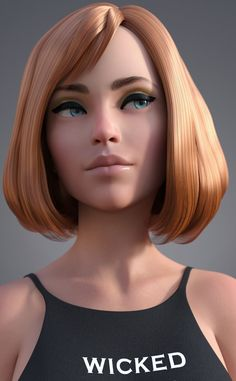 Here you will find all kinds of toon characters from all over the world. Zbrush Character, 3d Model Character, Female Character Design, Character Modeling, Character Creation, Character Art, Girl Cartoon, Cartoon Art, Modelos 3d