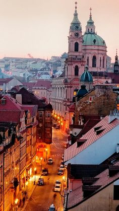 I love Prague.but love Prague. The Czech Republic - Prague: Evening Pastels (by John & Tina Reid) Places Around The World, Oh The Places You'll Go, Travel Around The World, Places To Travel, Travel Destinations, Places To Visit, Around The Worlds, Travel Things, Travel Stuff