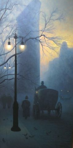 Michael Budden - Flatiron Building - Oil on canvas
