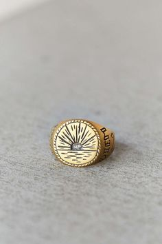LHN Sunrise Signet Ring
