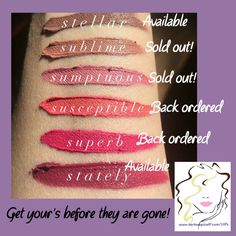 Younique has new amazing neutral liquid lipstick shades.  Liquid lipstick offers intense colour that lasts!