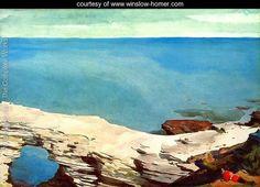 Natural Bridge, Bermuda - Winslow Homer - www.winslow-homer.com