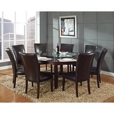 You'll love the 9 Piece Dining Set at Wayfair - Great Deals on all Furniture  products with Free Shipping on most stuff, even the big stuff.