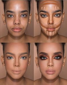 24 Perfect Highlight Contour Highlight makeup tutorial for beginners – Page 17 of 24 – Make Up for Beginners & Make Up Tutorial Makeup 101, Makeup Inspo, Makeup Hacks, Beauty Makeup, How To Makeup, Makeup Ideas, Basic Makeup, Makeup Stuff, Contour Makeup