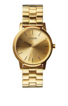 d947fa5cb51 Reloj Nixon Small Kensington All Gold