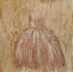 Painting of Pink Dress