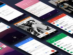Android N GUI Kit