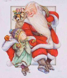 Christmas Scenes, Santa Christmas, Christmas And New Year, Xmas, Christmas Illustration, Cute Illustration, Whimsical Christmas, Vintage Christmas, Scandinavian Kids