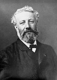 """Julio Verne (1828 - 1905). Uno de los padres de la ciencia ficción y maestro de la novela de aventuras. Tiene famosas obras como """"20000 leguas de viaje submarino"""" o """"Viaje al centro de La Tierra""""."""