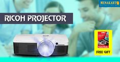 Shop Online for Ricoh Projector #Projector #Online #Shopping #Menakart #Office #Corporates