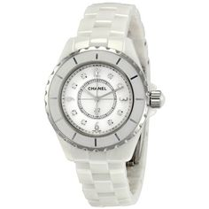 Chanel J12 White Ceramic Diamonds Quartz Ladies Watch H2422 for only $5,299.00