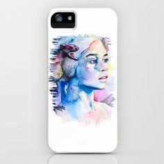 Daenerys Targaryen - game of thrones iPhone Case by Slaveika Aladjova - $35.00