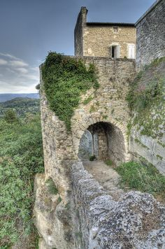 Ménerbes ~ a walled village on a hilltop in the Provence-Alpes-Côte d'Azur, southeastern, France.