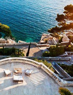 Oceanfront villa in Croatia