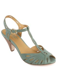 "Seychelles - ""Trip the light fantastic"" Aqua heels.. I love window shopping $90"