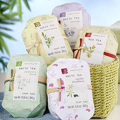 Tea Collection Wrapped Soaps at Cost Plus World Market