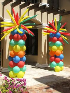 Circus Balloon decoration by DreamARK Events, Fort Lauderdale|Plantation|Wilton Manors|Palm Beach|Boca Raton|Miami|Tamarac|Miramar. Entertainment for kids|adult party and Special Events.