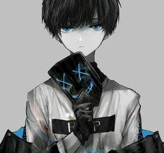 No mask and blue veins. Dark Anime Guys, Cool Anime Guys, Hot Anime Boy, Anime Oc, Fanarts Anime, Anime Neko, Anime Kawaii, Anime Characters, Manga Anime