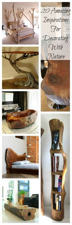 That bath tub though 20 AMAZING INSPIRATIONS FOR DECORATING WITH NATURE