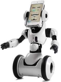 The foot-tall RoboMe from WowWee is a customizable iPhone-based robot toy. Through its app, a user chooses eye shapes, facial-hair styles, and accents. And because RoboMe has voice-recognition software and an infrared sensor, it can learn vocal commands and avoid obstacles. $100