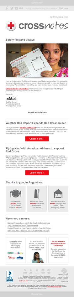 American Red Cross: Stop. Drop. Get prepared!