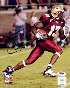 d7b8a2834 Antonio Cromartie Autographed 8x10 Photo Florida State Seminoles PSA DNA